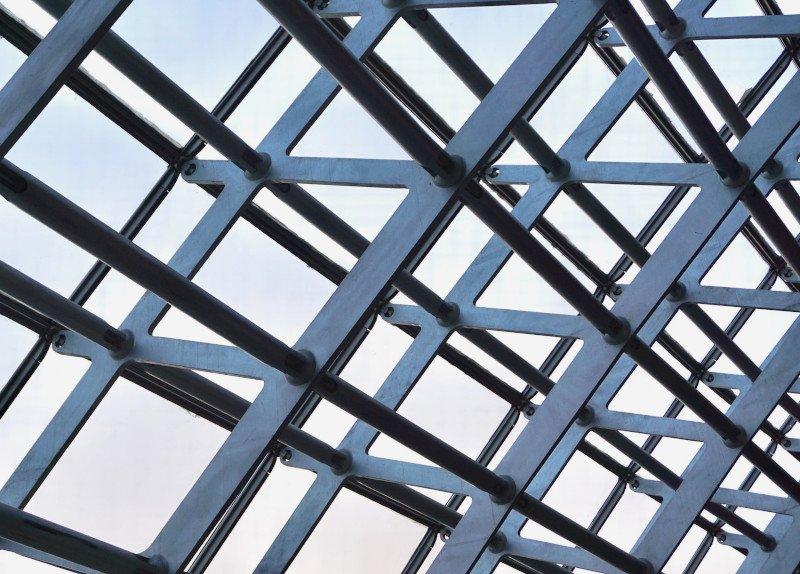 Steel fabrication abd supply Bristol. Image of steel structure